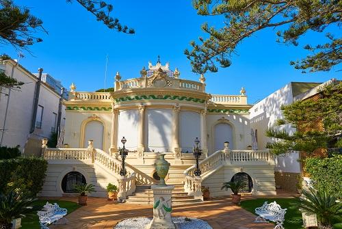 Jardín de estilo modernista