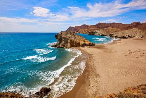 Playa en Cabo de Gata